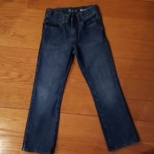 Children's place denim jean boys bootcut size 7